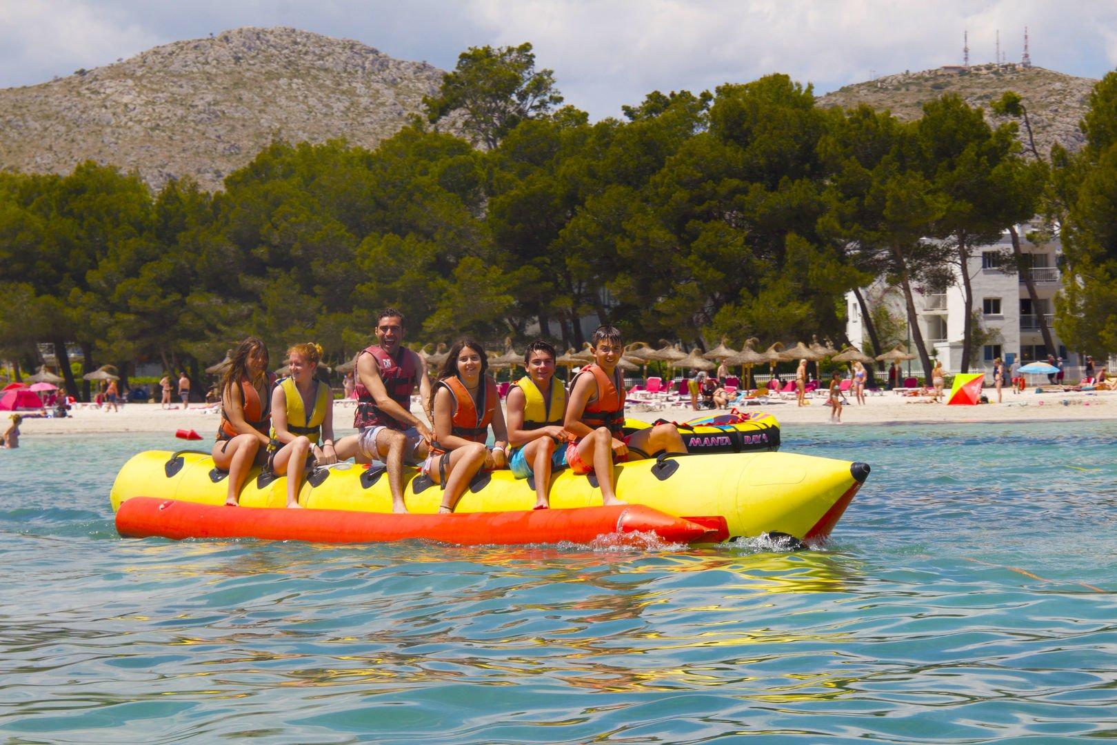 banana boat alcudia
