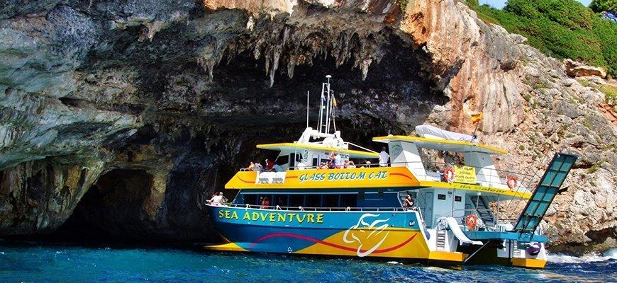 Glasbodenboot Cala Ratjada