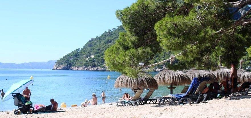 Aussicht Formentor Strand