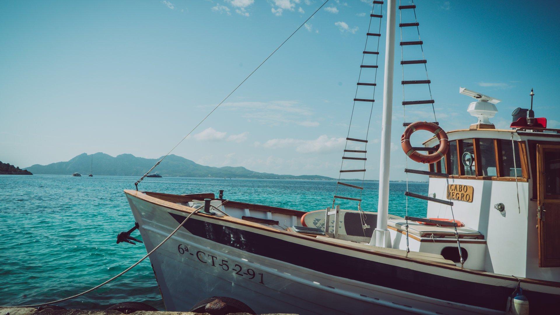 exklusiv Boot in Puerto Pollensa