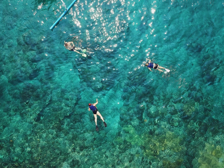 schnorcheln auf die Malgrats Inseln