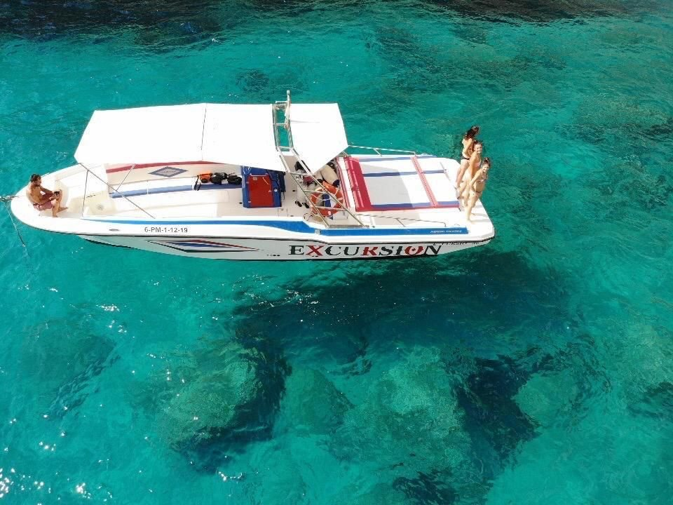 excursion en alcudia en barco