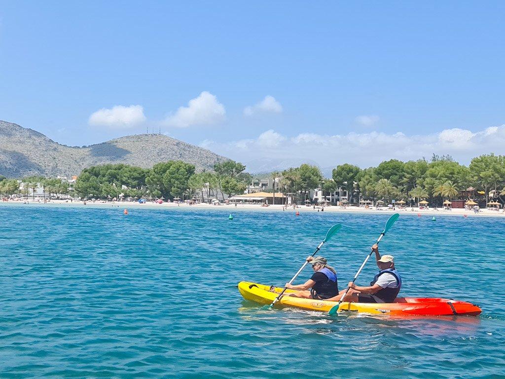 Alcudia: uno de los mejores lugares en kayak