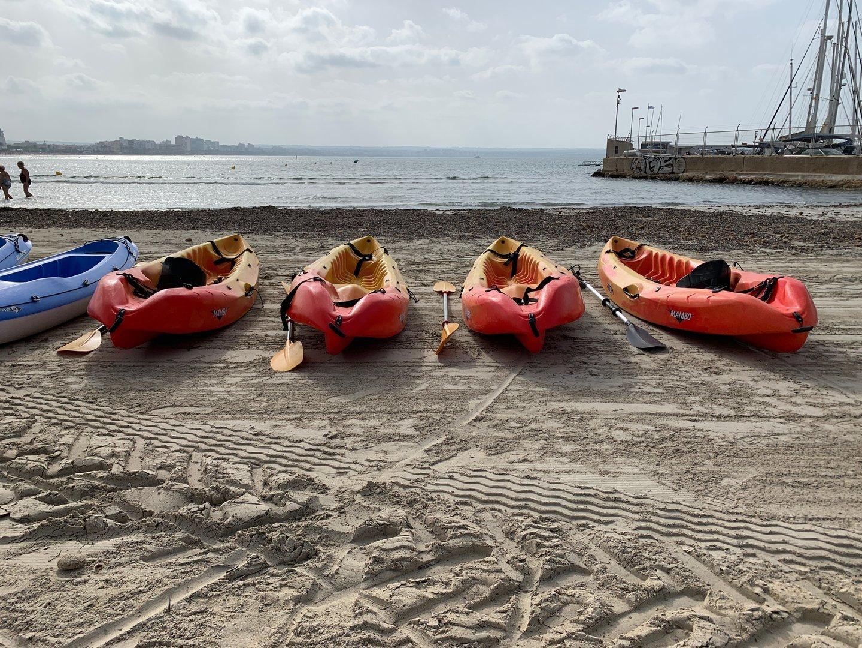 Kayaks en alquiler