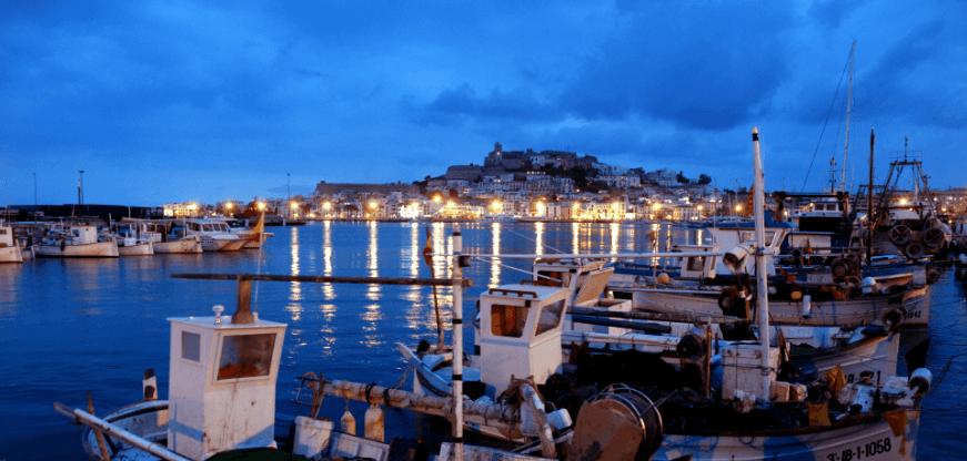 Port in Ibiza