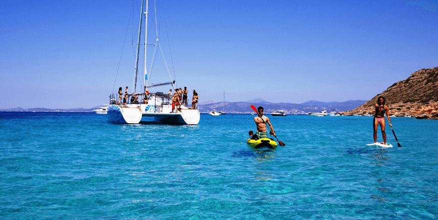 private catamaran in Palma