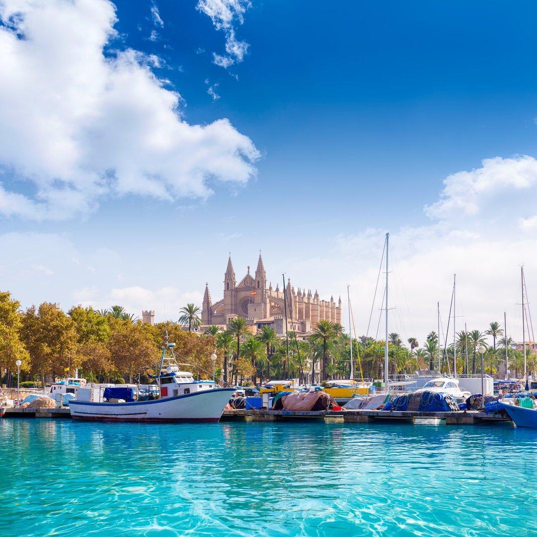 view cathedral Palma de Mallorca