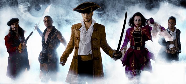 Pirates adventure show